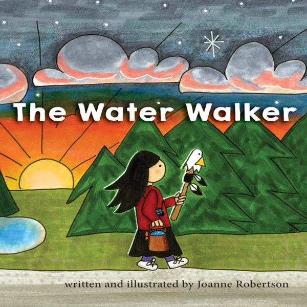 The Water Walker by Joanne Robertson Book Cover Image